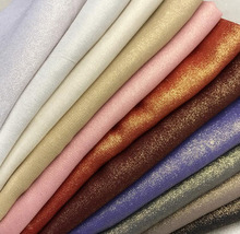chiffon fabric Bronzed summer fabric shiny fabric bronzing costume fabric DIY stage cosplay Dress 1M/lot