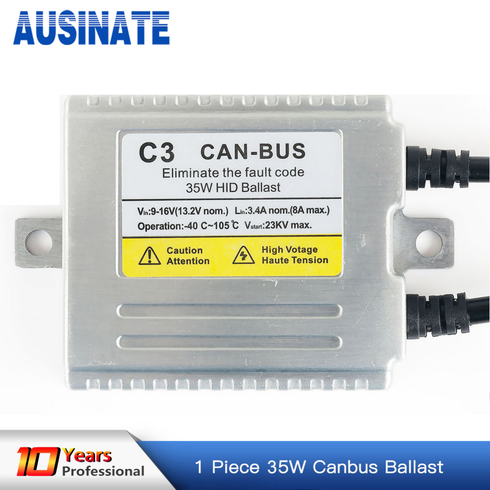 цена на 1pc AC CANBUS hid ballast 35W for xenon h7 canbus , free shipping & high quality HID ballast