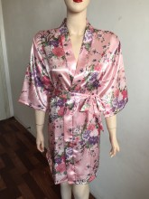 Sexy Silk Robe For Sleep And Lounge