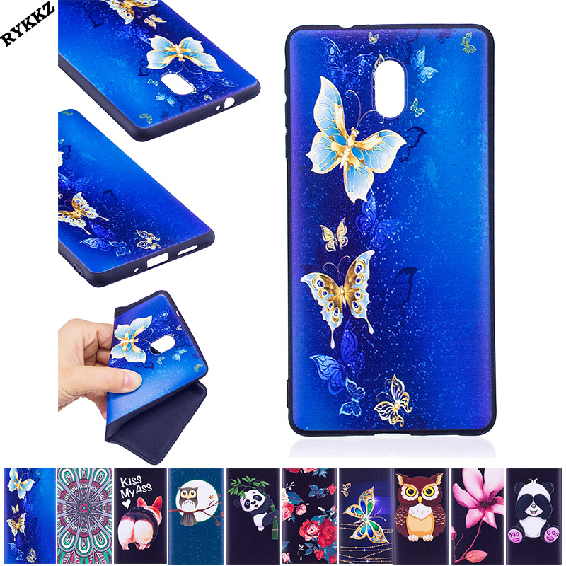 2018 Hot luxury Silicon Soft TPU Thin Back Covers For Nokia 3 5.0 inch Dual phone bumper fitted for Nokia3 coque case