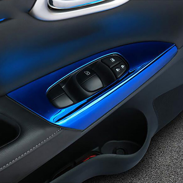 Aliexpress Buy Stainless Steel Car Interior Door Armrest Cover