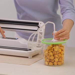 Image 2 - Reelanx вакуумные контейнеры, винная пробка для сохранения еды, вина, свежести, работа с вакуумным упаковщиком, банка с воздушным клапаном