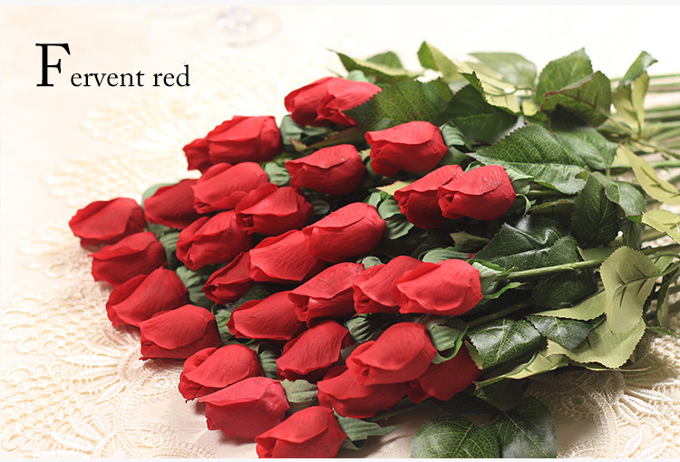 Health & Beauty Artificial Fresh Rose Flowers Real Touch Rose Flower Home Decorations For Wedding Party Or Birthday Wedding Decoration Flower