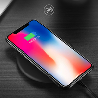 Benks 10W Qi Wireless Charger For IPhone 8 X Charging For Samsung S8 USB Charger Pad