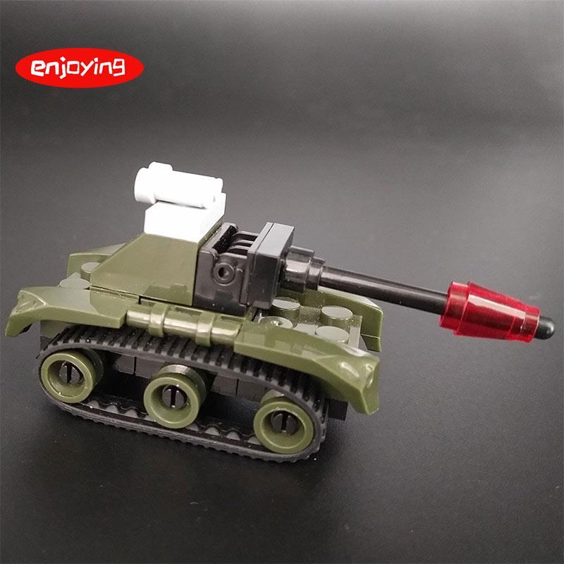 Tank Airplane Car Building Blocks Bricks City Military Series Vehicle Accessory  Technic City Toys For Kids