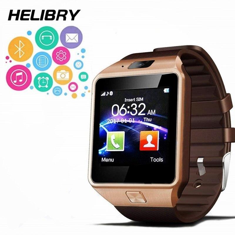 Bluetooth Smart Watch in DZ09 PK Q18 U8 A1 Y1 Smartwatch No GPS Del Telefono di Sostegno SIM SD Card con la Macchina Fotografica per android iOS Smartphone