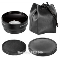 Neewer 52MM 0 45X Wide Angle Macro Lens HD For 52mm Filter Thread Lens Canon 700D