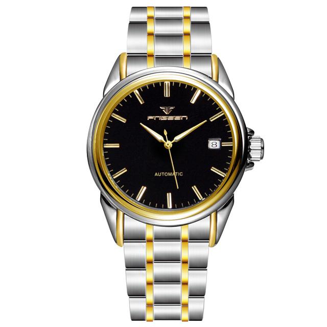 RELOJ de mens Mecánico Automático de lujo reloj de Los Hombres de moda a prueba de agua Reloj de la marca de calidad superior de negocios reloj de pulsera militar de la vendimia
