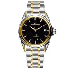 MONTRE Mécanique mens Automatique de luxe horloge mode Hommes étanche Montre d'affaires top qualité marque montre-bracelet militaire vintage