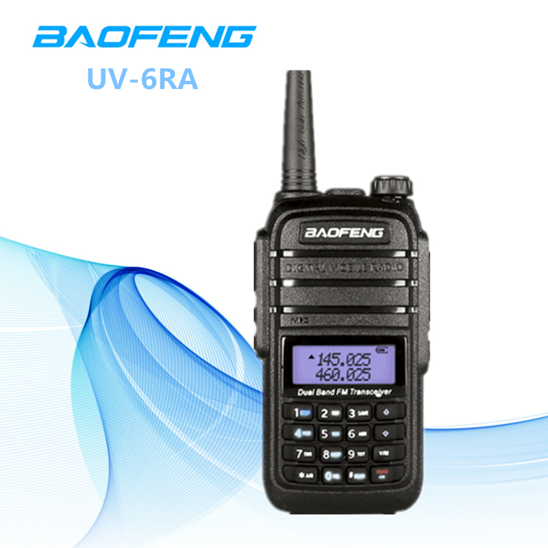 1 PC 10km Range Two Way Radio Baofeng UV-6RA With Earphone Dual Band Transceiver Portable CB Radio UV 6RA Baofeng Walkie Talkie1 PC 10km Range Two Way Radio Baofeng UV-6RA With Earphone Dual Band Transceiver Portable CB Radio UV 6RA Baofeng Walkie Talkie