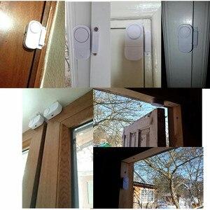 Image 4 - Независимые магнитные датчики, независимая Беспроводная Входная охранная сигнализация для дверей дома и окон, охранная сигнализация