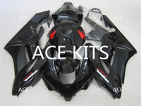 ACE KITS New ABS Injection Fairings Kit Fit For HONDA CBR1000RR 2004 2005 CBR1000RR 04 05 black A77