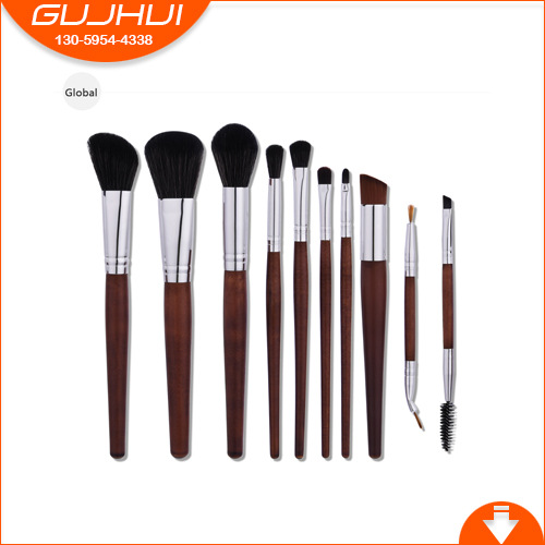 10piece Makeup Brushes Set Foundation Blending Powder Eyeshadow Contour Concealer Blush Cosmetic Beauty Make Up Kits Hot New цена и фото