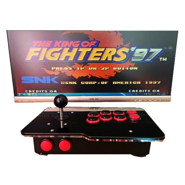 arcade joystick USB rocker arcade stick Street Fighter PC computer led KOF 97 rocker arcade computer game board free shipping