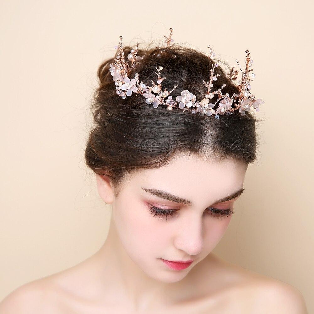 pink flower rhinestone princess