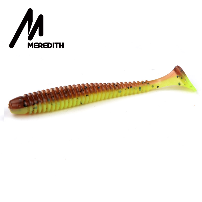 MEREDITH 75mm/2g 20pcs/Lot Fishing Lures Soft Lures Fishing Soft Bait Bass Bait Swimbait Craws Swing Impact meredith fishing lures crazy flapper 70mm 3g 10pc lot craws soft lures fishing for fishing soft bait shrimp bass bait peche gear