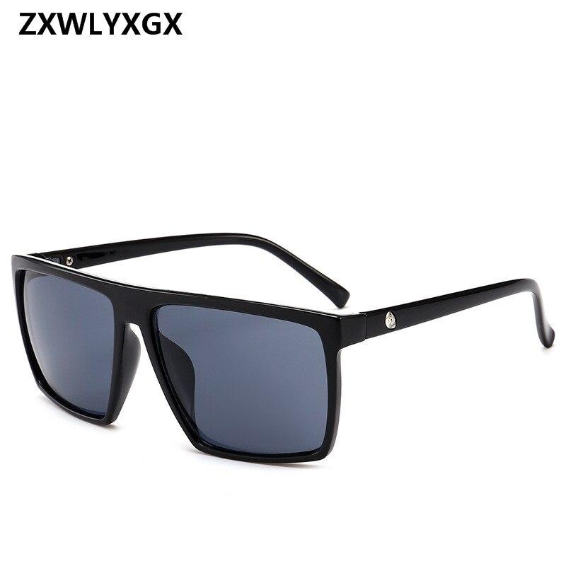 2018 Quadrat Sonnenbrille Männer Marke Designer Spiegel Photochrome Übergroßen Sonnenbrille Männliche Sonnenbrille Mann Oculos De Sol Spezieller Kauf