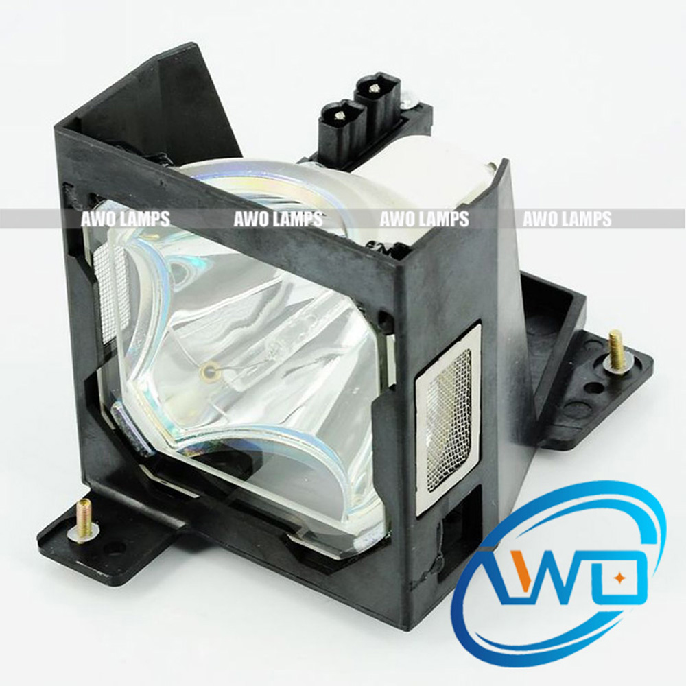 AWO New Replacement Projector Lamp ET-LAL6510 with Housing for PANASONIC PT-L6500/L6510/L6600/PT-L6500U/UL PT-L6510U/UL PT-L6600 projector lamp et lad7700l with housing for panasonic pt dw7000 pt dw7000k pt dw7000u pt dw7000e pt dw7000ek pt dw7700l