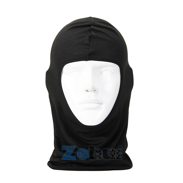Skullies & Beanies Protection Full Face Lycra Balaclava Headwear Ski Neck Cycling Motorcycle Mask Cotton 2pc skullies