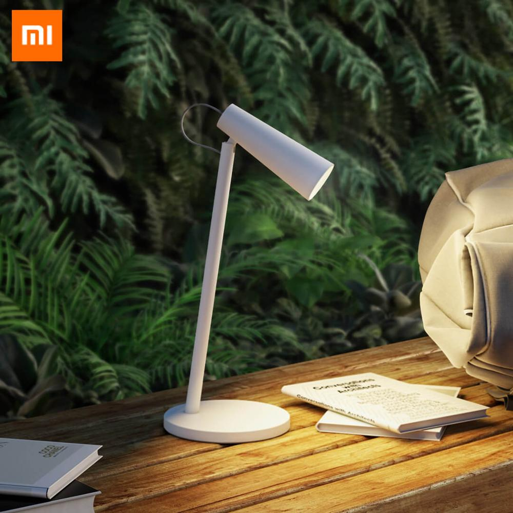 Original Xiaomi Mijia Protable Wireless USB Rechargeable LED Table Lamp 3 Light Temperture Eyes Care Dimmable Reading Light