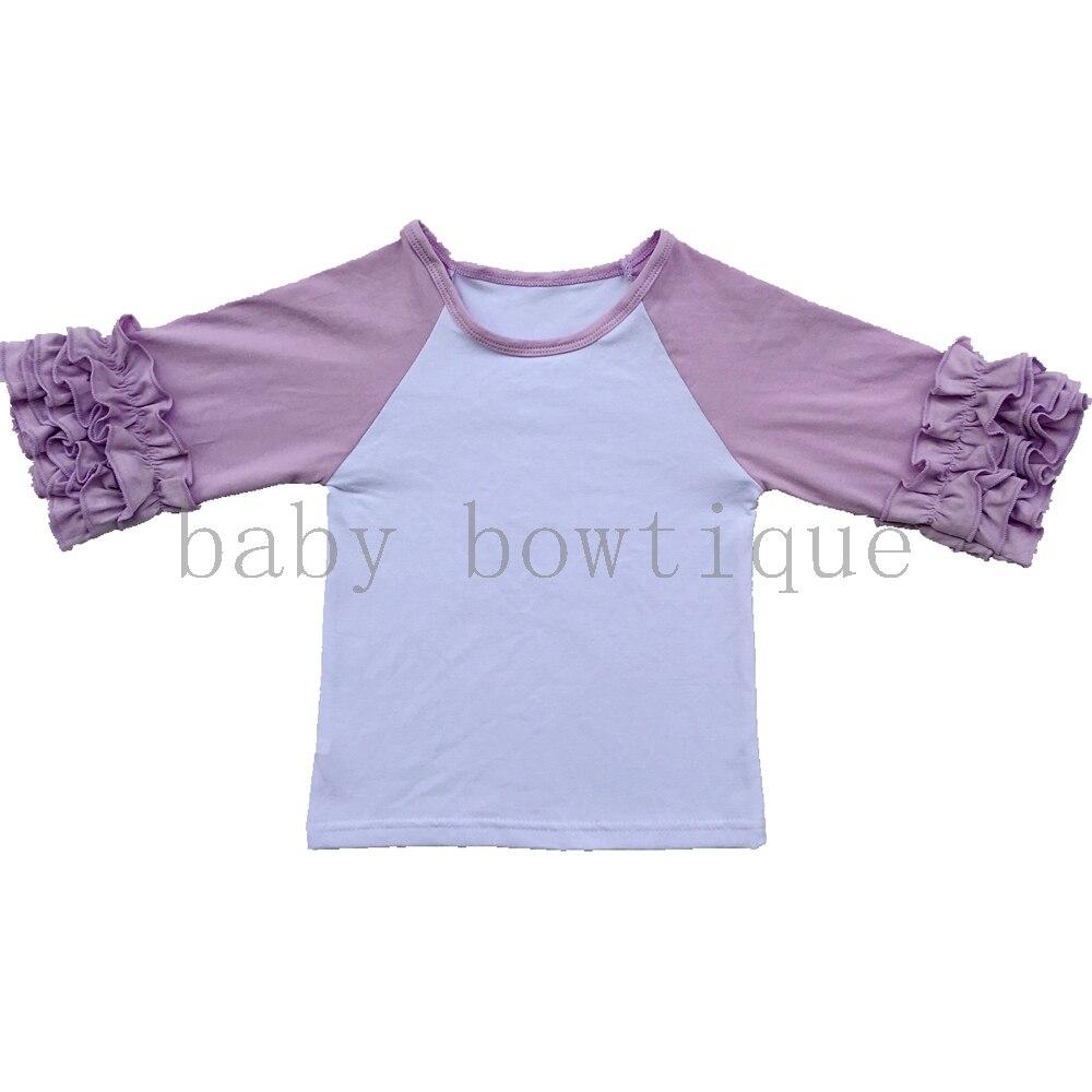 Aliexpress Buy Ruffled Raglan Toddler Three Quarter Shirt