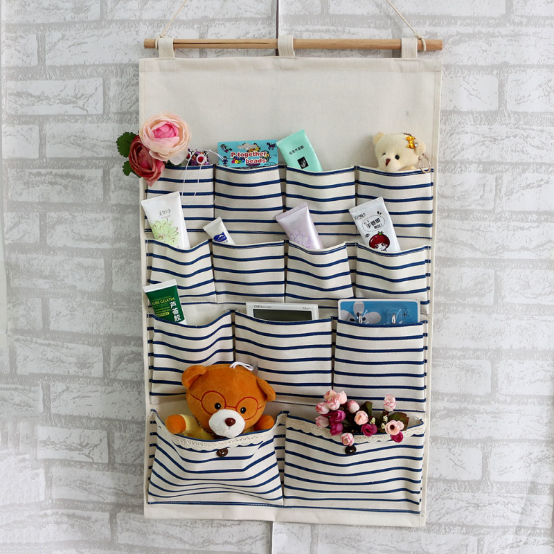 Hot Sale Hanging Storage Baby Bag Organizer Wall Organizer Bathroom Bag1pcs  46x72cm Pouch Hanging Organizer Storage Bag Pocket In Storage Bags From  Home ...