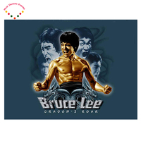 5D DIY Diamond Painting International Star Bruce Lee Crystal Plasticcrafts Round Diamond Embroidery Diamond Decorative Painting