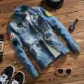 New Fashion Cowboy Jacket Men's Denim Jacket 2017 spring Autumn Coat Men's Clothing Plus Size OUTERWEAR M - 5XL Free shipping