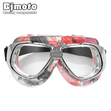 Motorcycle Goggles Glasses Vintage Motorbike Classic goggles Retro Aviator For Harley Protection UV-proof Eyewear glasses