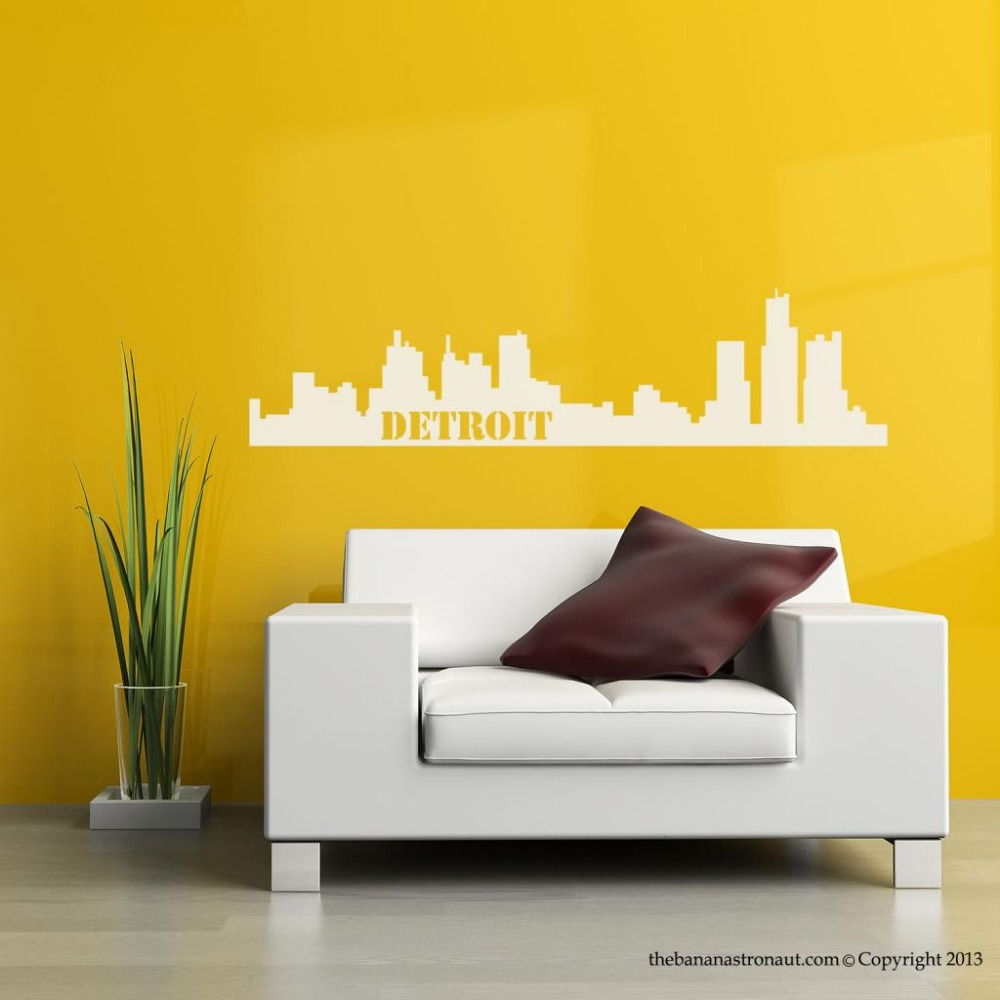 Beautiful Detroit Wall Art Sketch - Wall Art Collections ...