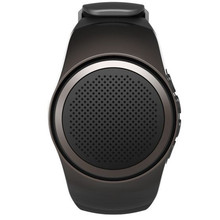 Bluetooth 2 1 Watch Style Music Speaker Support TF Card Hands free Call Wristwatch font b