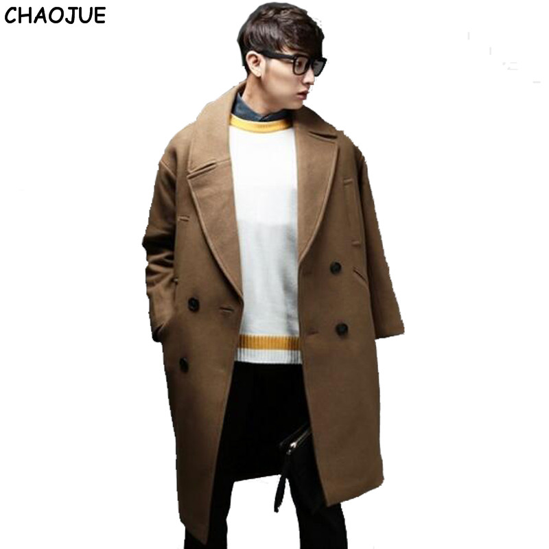 Popular Wool Coat Male-Buy Cheap Wool Coat Male lots from China ...