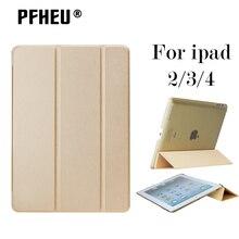 Diseñador de moda PU Cuero de la Tableta Cubierta Elegante Del Caso Ultra Delgado Para el ipad de Apple 2/3/4 iPad2 iPad3 iPad4 Retina