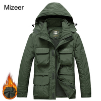 2017 Winter Warm Outwear Men Parkas Winter Army Camouflage Men Coat Military Tactical Jackets Men Waterproof