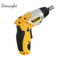 цена на 3.6V Electric Screwdriver Lithium Battery Rechargeable Cordless Electric Drill Power Tools