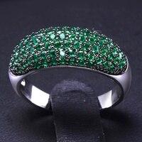 Wyjątkowa Biżuteria pierścienia Kolorów Alergia Bezpłatne Ustawianie Cyrkoniami Pierścionki dla Kobiet Ołowiu