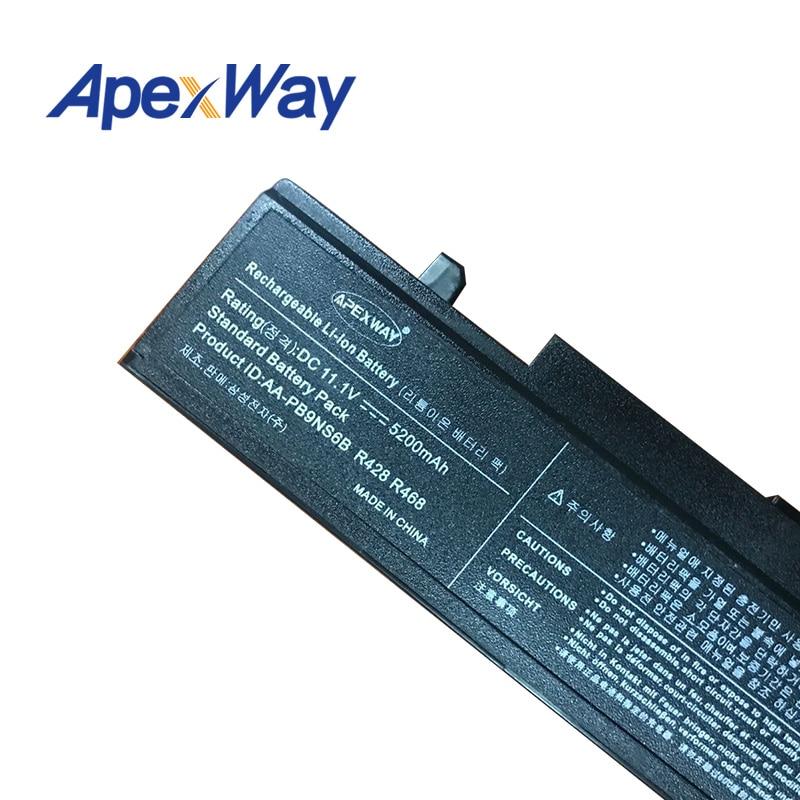Samsung R428 R429 R430 R438 R460 R425 RF511 AA-PB9NC5B AA-PB9NC6B - Noutbuklar üçün aksesuarlar - Fotoqrafiya 4