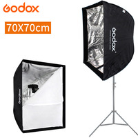 Godox 70x70cm Portable Rectangle Umbrella Softbox Diffuser Reflector for Photography Studio Speedlite Light 70*70 cm Soft Box