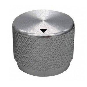 High Quality Aluminum Volume Knob Potentiometer Knob Power Amplifier Knob 20 x 15mm - Silver(China)