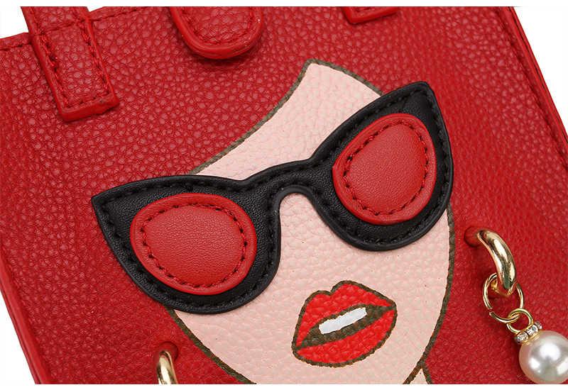 Модные жемчужные серьги, сексуальные женские дизайнерские Сумки из искусственной кожи для девушек, сумка через плечо, мини сумка через плечо, женская сумка