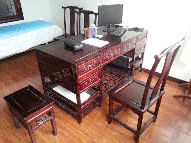 Dragon taipan tables et chaises bureau bois d orme meubles