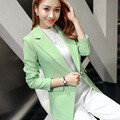 2016 New Style Slim Women Blazers And Jackets Women Suit Korean Version Slim Ladies Long-sleeved Blazer Femme