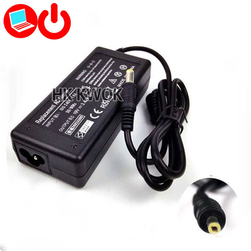 19V 3.42A 5.5x1.7mm AC Laptop Power Adapter For acer 8000 8100 8100A S3 3680 3270 2930 280 PA-1700-02 Power Supply Charger