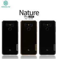 For Lg G5 Case NILLKIN Ultra Thin Transparent Nature TPU Case For Lg G5 Cover Soft