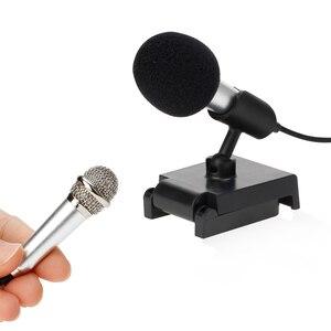 Image 4 - Micrófono Mini PARA karaoke, micrófono portátil con conector Jack de 3,5mm, micrófono para hablar, sonido de música y grabación