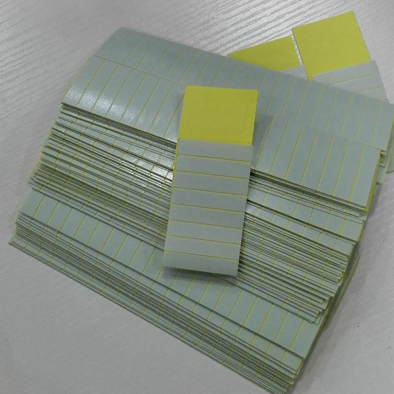 60pcs 4cm X08cm Strong Double Tape Sticker For Skin Weft Hair