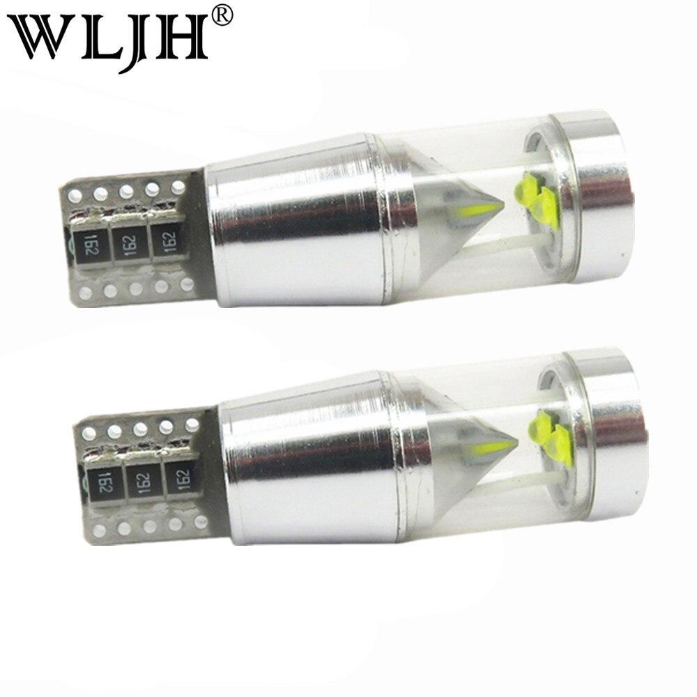 Wljh 2x T10 W5W Canbus свет кри чип ошибка не 500lm 9 Вт Двигатель автомобиля свет парковка номерной знак оформление резервного копирования Обратный Све...