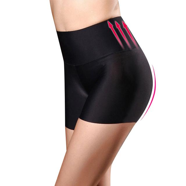 Women Safety Shorts Pants Seamless Nylon High Waist Panties Seamless Boyshorts Pants Girls Slimming Underwear