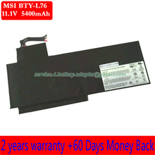 Free shipping MSI BTY-L76 Laptop Battery For MSI GS70 2PE-010US GS70 MS-1771 GS70 MS-1771 Schenker XMG C703 MSI BTY-L76 11.1V