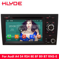KLYDE 4G Octa Core Android 8.0 4GB RAM 32GB ROM Car DVD Multimedia Player Radio For Audi A4 S4 RS4 8E 8F B9 B7 RNS E 2002 2008
